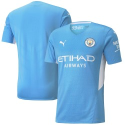 Manchester City 2021/22 Authentic Home Shirt