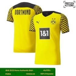 [PLAYER EDITION] Borussia Dortmund 2021/22 Authentic Home Shirt