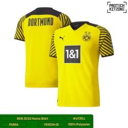 Borussia Dortmund 2021/22 Home Shirt