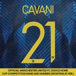 [Coming Soon] Cavani 21 (Official Manchester United FC 2021/22 Third Name and Numbering - Sporting iD Ver.)