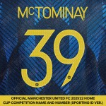 [Coming Soon] McTominay 39 (Official Manchester United FC 2021/22 Third Name and Numbering - Sporting iD Ver.)