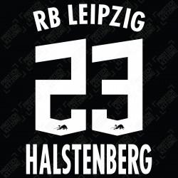 Halstenberg 23 (Official RB Leipzig 2021/22 Away / Third Name and Numbering) - Bundesliga Ver.