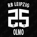 Olmo 25 (Official RB Leipzig 2021/22 Away / Third Name and Numbering) - Bundesliga Ver.