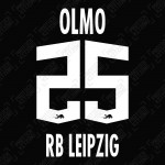 Olmo 25 (Official RB Leipzig 2021/22 Away / Third Name and Numbering) - UEFA CL Ver.
