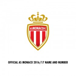 Official Name and Number Cup Printing for AS Monaco 16/17 Ligue 1 Home/Away Shirt ***(More Players Available)
