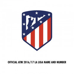[CLEARANCE] Official Atletico Madrid 2016/17 La Liga Name and Numbering **More Players Available