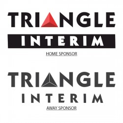 Triangle Interim Official Sleeve Sponsor Printing for AS Monaco 2016/17 Home / Away Shirt