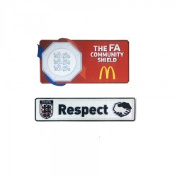 Official The FA Community Shield & Respect Patches (2016/17 version)