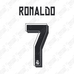 Ronaldo 7 (Official Real Madrid 2015/16 Home Name and Numbering)