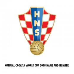 [CLEARANCE] Official Croatia World Cup 2018 Name and Numbering **More Players Available