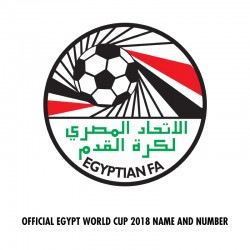 [CLEARANCE] Official Egypt World Cup 2018 Name and Numbering **More Players Available