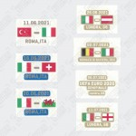 Official Italy Euro 2020 Match Date Details Printing