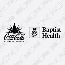 Official Coca-Cola + Baptist Health Sleeve Sponsor (For Inter Miami CF 2020 Home Shirt)