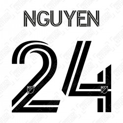 Nguyen 24 (Official Inter Miami CF 2020 Home Name and Numbering)