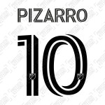Pizarro 10 (Official Inter Miami CF 2020 Home Name and Numbering)