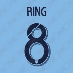 Ring 8 (Official New York City FC 2019 Home Name and Numbering)