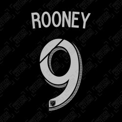 Rooney 9 (Official DC United 2018/19 Home Name and Numbering)