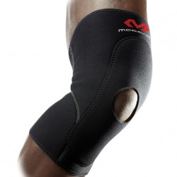 McDavid 404R Level 1 Knee Sleeve w/ anterior patch & open patella