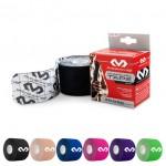 "MCDAVID 6202 Kinesiology Tape (20) Pre-Cut Strips, 10"" w/ Logo / Single Roll Box"
