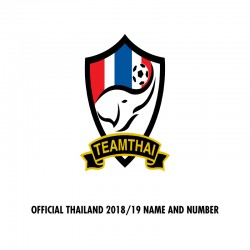Official Thailand 2018/19 Name and Numbering **More Players Available