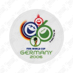 Official FIFA 2006 Germany World Cup Sleeve Patch