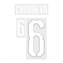 Candreva 6 (Official Italy World Cup 2018 Home Name and Numbering)