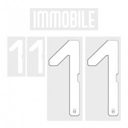 Immobile 11 (Official Italy World Cup 2018 Home Name and Numbering)