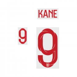 Kane 9 (Official England World Cup 2018 Home Name and Numbering)