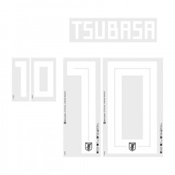 Tsubasa 10 (Official Japan World Cup 2018 Home Name and Numbering)