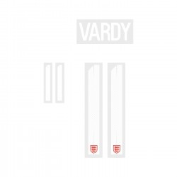 Vardy 11 (Official England World Cup 2018 Away Name and Numbering)
